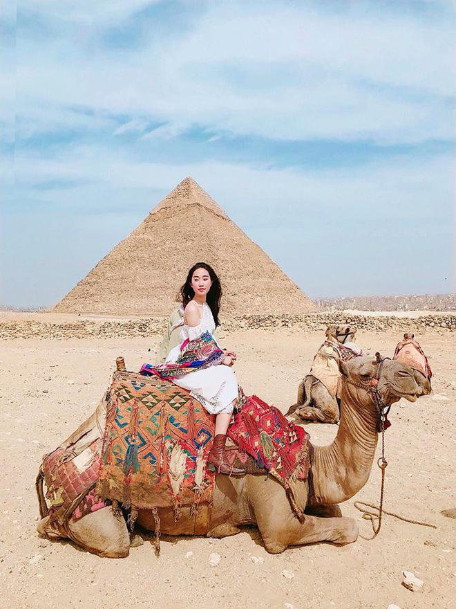 Bộ ảnh du lịch Ai Cập của cô bạn xinh đẹp: Xem xong sẽ thấy rất đáng để ước mơ ghé thăm một lần - Ảnh 1.