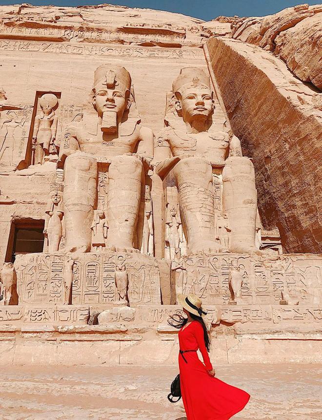 Bộ ảnh du lịch Ai Cập của cô bạn xinh đẹp: Xem xong sẽ thấy rất đáng để ước mơ ghé thăm một lần - Ảnh 16.