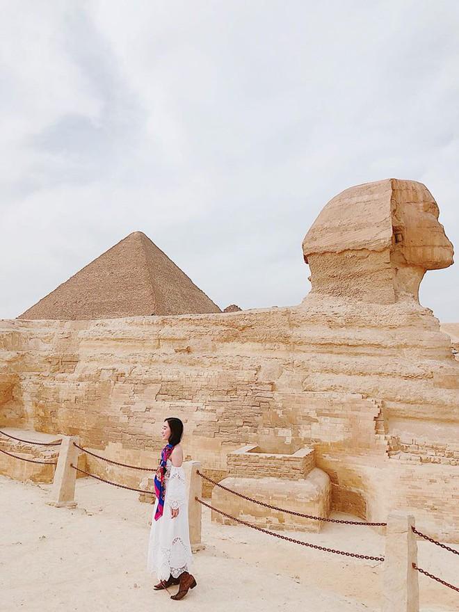 Bộ ảnh du lịch Ai Cập của cô bạn xinh đẹp: Xem xong sẽ thấy rất đáng để ước mơ ghé thăm một lần - Ảnh 4.