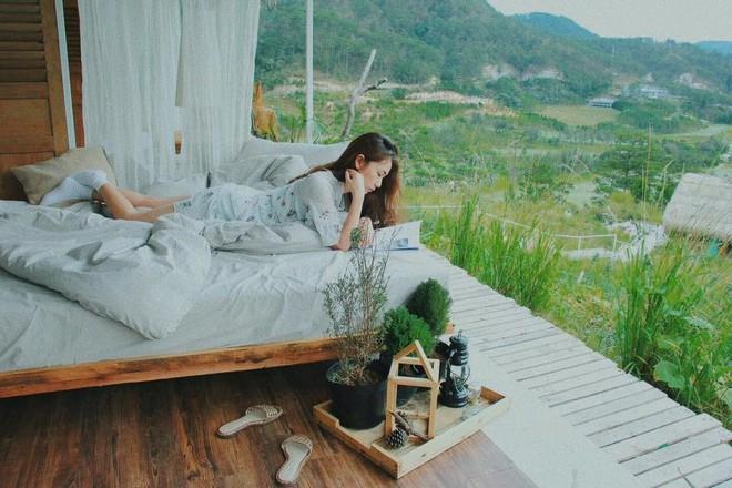 3 homestay ở Đà Lạt để bạn ểnh ương ngủ nướng rồi đọc sách, uống trà cả ngày không chán - Ảnh 9.