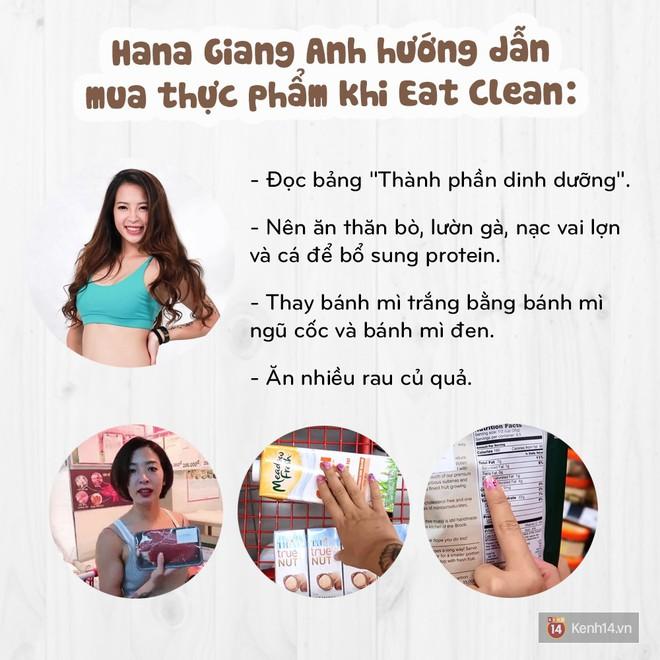 Eat Clean khi đi siêu thị như thế nào cùng Hana Giang Anh - ảnh 17