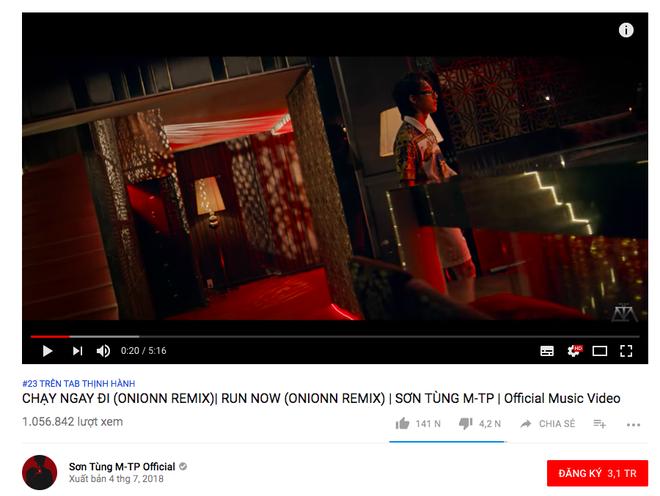 Sau nửa ngày, MV Chạy ngay đi phiên bản mới cán mốc 1 triệu view - Ảnh 2.