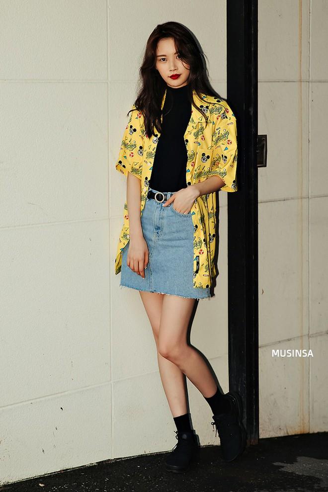 Không thời trang phang thời tiết, giới trẻ Hàn diện toàn đồ mát rười rượi mà vẫn đẹp không lối thoát - Ảnh 12.