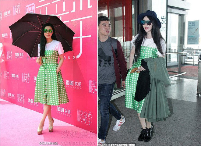 Giàu nứt đố đổ vách nhưng Phạm Băng Băng, Angela Baby, Song Hye Kyo rất hay mặc lại đồ cũ - Ảnh 4.