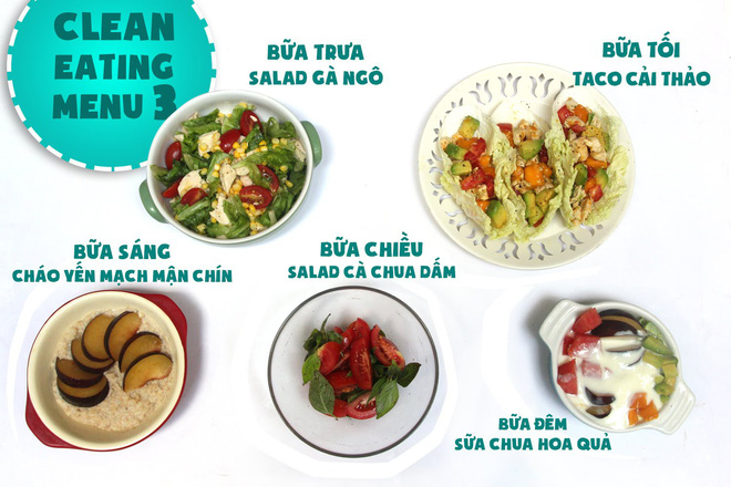 Gợi ý thực đơn 7 ngày đầu Eat Clean với nhiều món ăn quen thuộc của người Việt Nam - Ảnh 6.