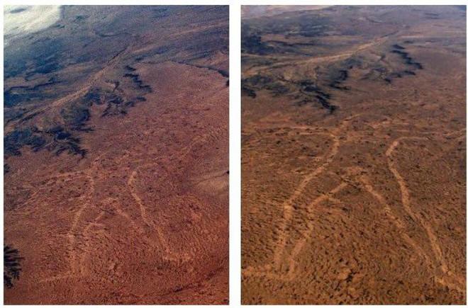 Marree Man - Hình vẽ thổ dân khổng lồ trên sa mạc Úc có thể nhìn thấy từ vũ trụ hơn 20 năm qua vẫn là một câu đố làm các nhà khoa học điên đầu - ảnh 3