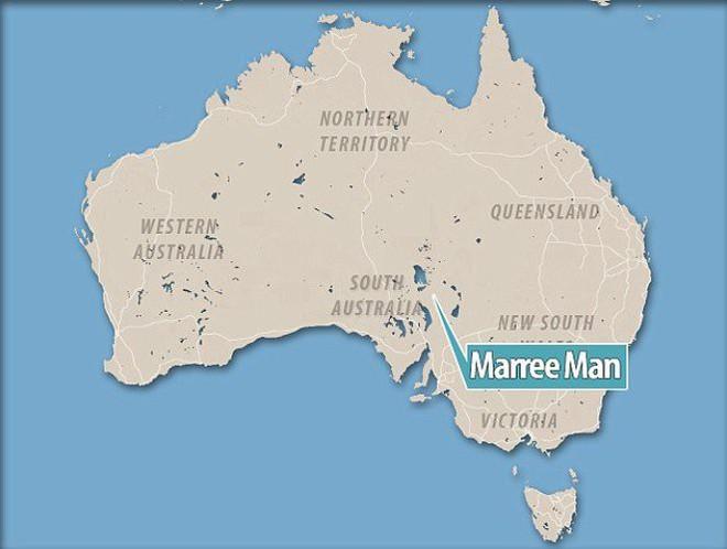 Marree Man - Hình vẽ thổ dân khổng lồ trên sa mạc Úc có thể nhìn thấy từ vũ trụ hơn 20 năm qua vẫn là một câu đố làm các nhà khoa học điên đầu - ảnh 4