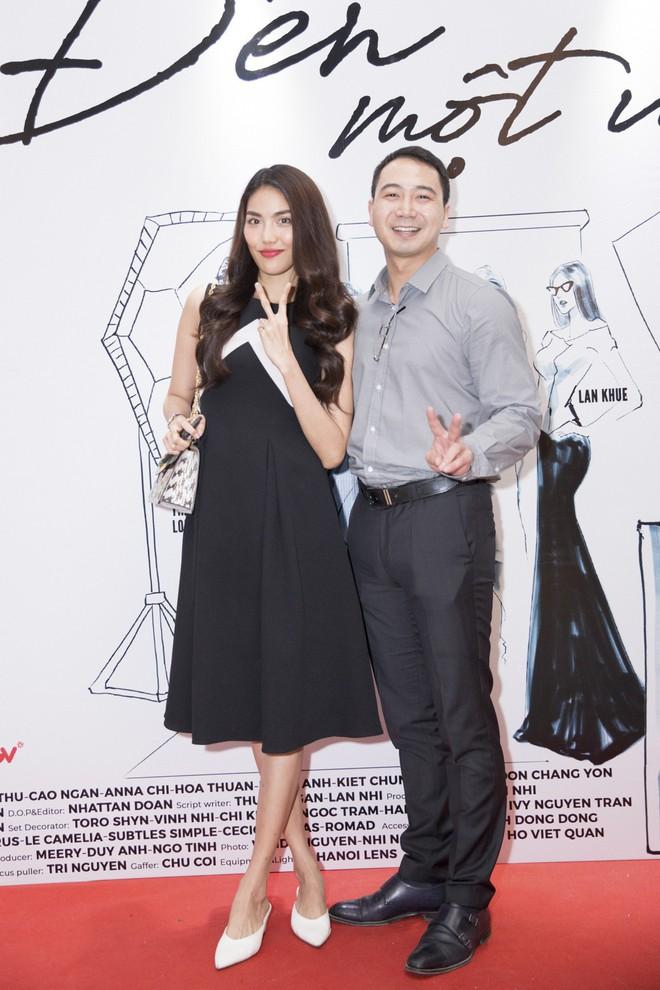Hà Tăng cũng từng diện bộ váy đen y chang thiết kế mà Lan Khuê mặc đi mặc lại  - Ảnh 2.