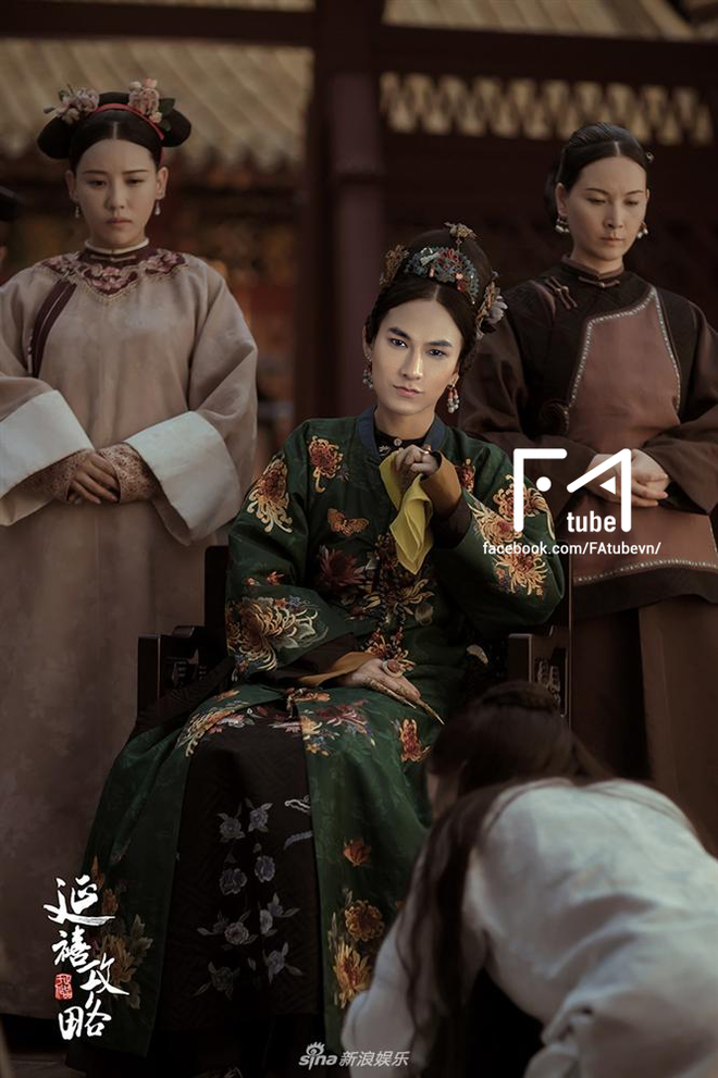 Muốn lịm đi với loạt ảnh Noo Phước Thịnh, Sơn Tùng, Isaac... trở thành mỹ nhân của Diên Hi Công Lược - ảnh 4
