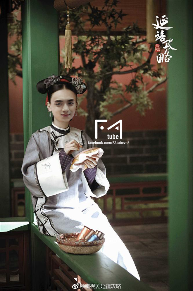 Muốn lịm đi với loạt ảnh Noo Phước Thịnh, Sơn Tùng, Isaac... trở thành mỹ nhân của Diên Hi Công Lược - ảnh 2
