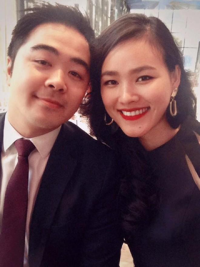 Á quân Next Top Tuyết Lan và hôn phu cười hạnh phúc trong hậu trường chụp ảnh cưới - ảnh 2