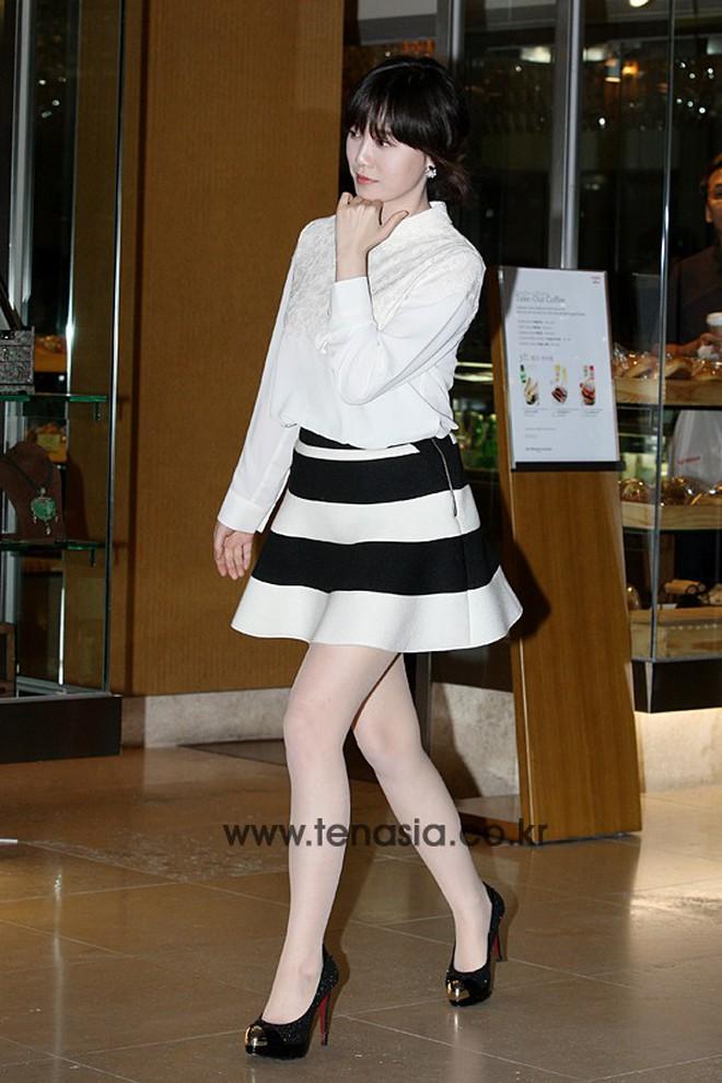 Giảm cân thành công nhưng Goo Hye Sun vẫn kém đẹp chỉ vì thói quen này khi diện váy ngắn - ảnh 8