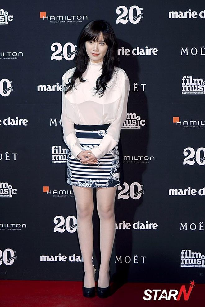 Giảm cân thành công nhưng Goo Hye Sun vẫn kém đẹp chỉ vì thói quen này khi diện váy ngắn - ảnh 7