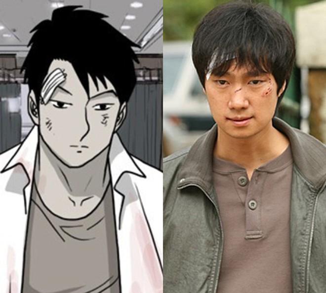 6 nhân vật phim Hàn giống nguyên tác truyện tranh đến đáng sợ - ảnh 6