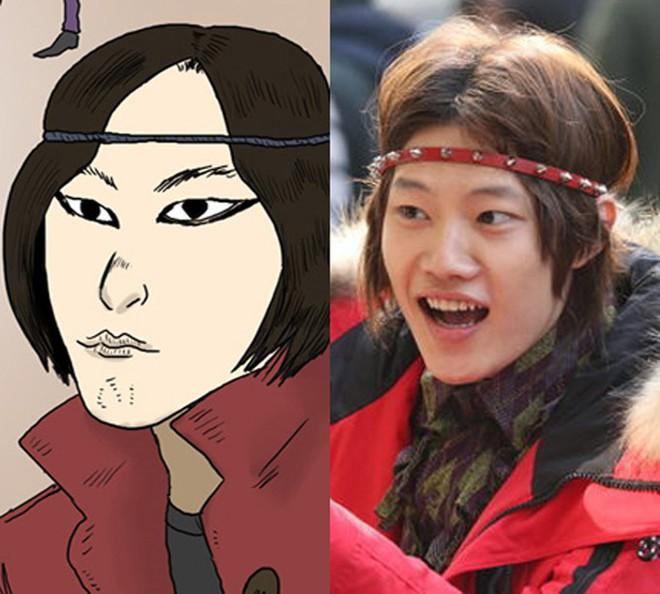 6 nhân vật phim Hàn giống nguyên tác truyện tranh đến đáng sợ - ảnh 9