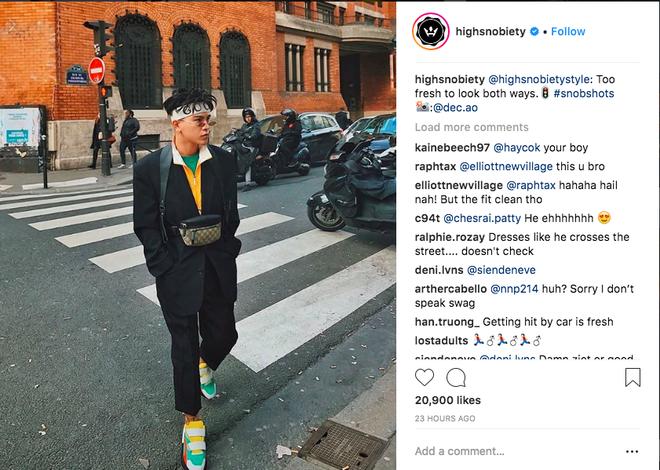 Decao mặc đồ chất tới nỗi chuyên trang Highsnobiety phải repost ảnh và khen tới tấp trên Instagram - ảnh 1