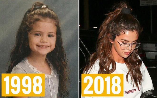 Dậy thì thành công như Selena: 6 tuổi và 26 tuổi diện cùng một kiểu tóc, xưa dễ thương, giờ lại quyến rũ chất ngất - ảnh 1