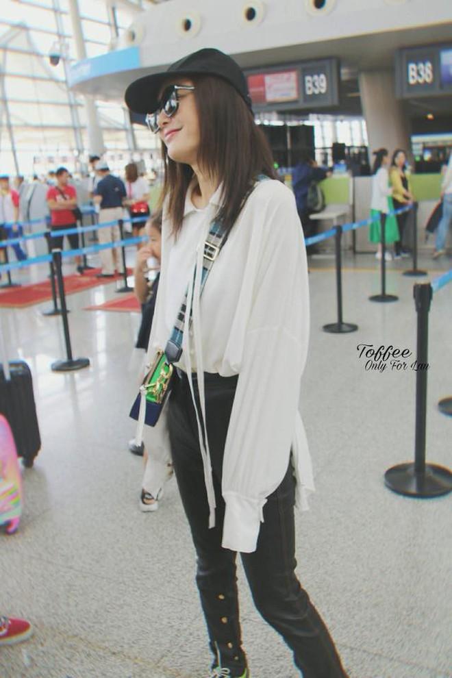 Tham chi tiết và mix vô tội vạ nên style sân bay của Phú Sát Hoàng Hậu Tần Lam nhiều khi vẫn còn sến lắm! - ảnh 5