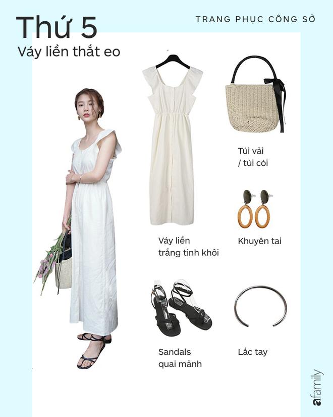 Nàng công sở mặc gì đi làm khi đã chán quần âu và sơmi trắng? - ảnh 10