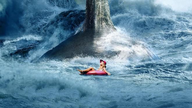 Cá mập cổ đại khổng lồ The Meg hùng bá phòng vé Mỹ cuối tuần - ảnh 1