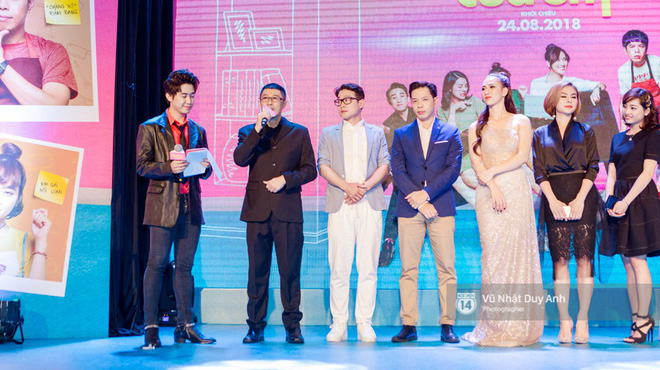 Chàng vợ Thái Hòa hóa soái ca, cạnh tranh nhan sắc với Hứa Vĩ Văn tại đêm ra mắt phim mới - ảnh 9