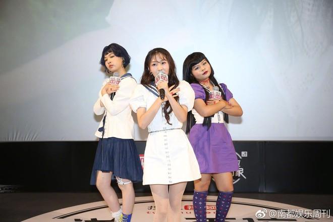 Girlband xấu nhất lịch sử Trung Quốc tổ chức fan meeting, dân tình chê bai không tiếc lời - ảnh 5