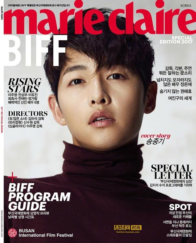 Song Joong Ki gây náo loạn khi tiếp bước Park Bo Gum để tóc dài lãng tử, liệu có phải tạo hình cho bom tấn mới? - ảnh 5