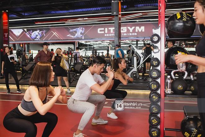 The Face Vietnam: Dàn trai xinh gái đẹp khoe dáng với phần ghi hình tập gym - Ảnh 5.