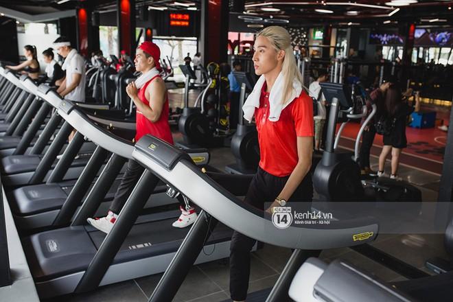 The Face Vietnam: Dàn trai xinh gái đẹp khoe dáng với phần ghi hình tập gym - Ảnh 8.