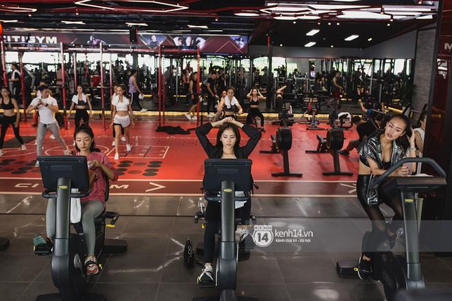 The Face Vietnam: Dàn trai xinh gái đẹp khoe dáng với phần ghi hình tập gym - Ảnh 9.