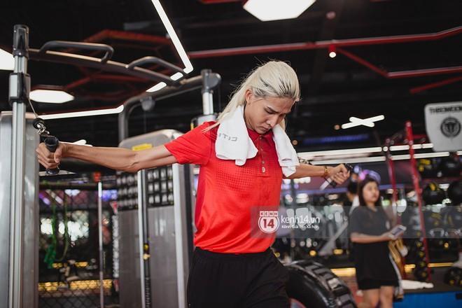 The Face Vietnam: Dàn trai xinh gái đẹp khoe dáng với phần ghi hình tập gym - Ảnh 7.