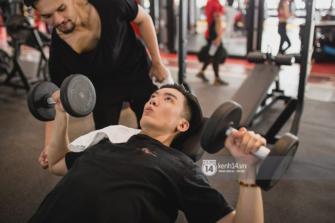 The Face Vietnam: Dàn trai xinh gái đẹp khoe dáng với phần ghi hình tập gym - Ảnh 19.