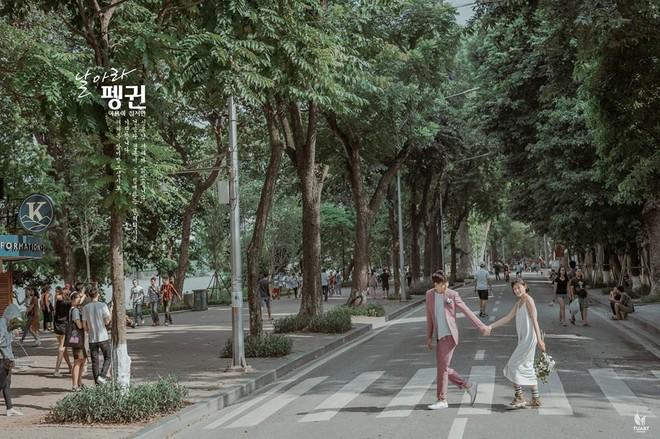 Đang trầm trồ vì Hàn Quốc đẹp quá thì mới nhận ra bộ ảnh này được chụp... 100% giữa lòng Hà Nội - Ảnh 1.