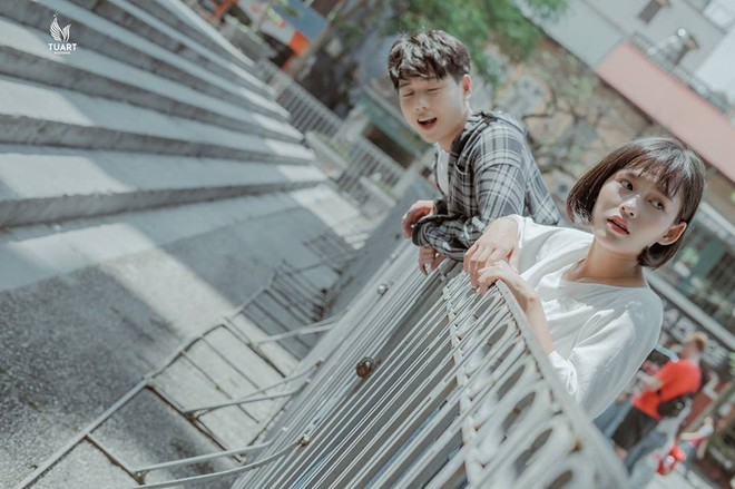 Đang trầm trồ vì Hàn Quốc đẹp quá thì mới nhận ra bộ ảnh này được chụp... 100% giữa lòng Hà Nội - Ảnh 3.