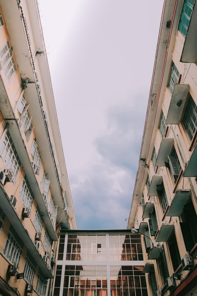 Ở Hà Nội có 1 ngôi trường mà đến cái thùng rác cũng là 1 góc sống ảo so deep - Ảnh 17.