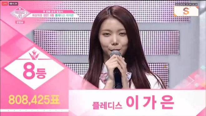 Tụt dốc không phanh từ vị trí số 1, Kaeun (After School) liệu có đi theo vết xe đổ của Jonghyun (NUEST) tại Produce 48? - Ảnh 3.