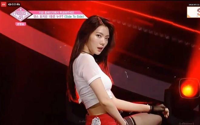 Tụt dốc không phanh từ vị trí số 1, Kaeun (After School) liệu có đi theo vết xe đổ của Jonghyun (NUEST) tại Produce 48? - Ảnh 9.