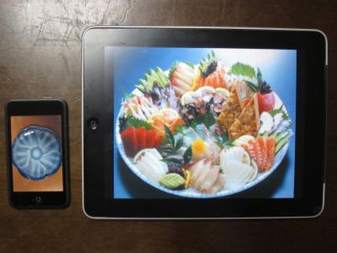 Nhà hàng 3 sao Michelin dùng iPad để đựng món ăn thật, vừa ăn vừa xem hoạt hình ngay bên dưới - ảnh 5