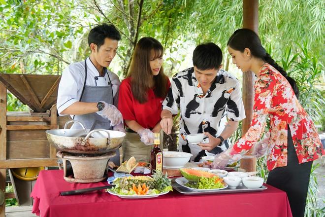 Gin Tuấn Kiệt bất ngờ trước độ am hiểu của Han Sara về ẩm thực Việt Nam - Ảnh 9.