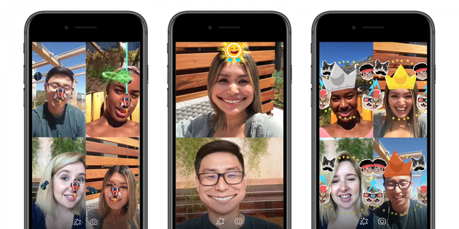Facebook Messenger có 2 game mới đặc biệt: Vừa gọi video vừa bắn súng, thả đá solo với bạn bè - Ảnh 2.
