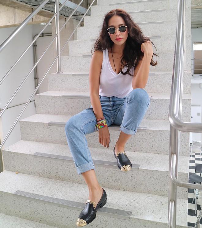 Đại diện các chị em mặc thử 8 loại quần jeans phổ biến, cô nàng này đã tìm ra loại tôn chân nịnh dáng nhất - ảnh 1