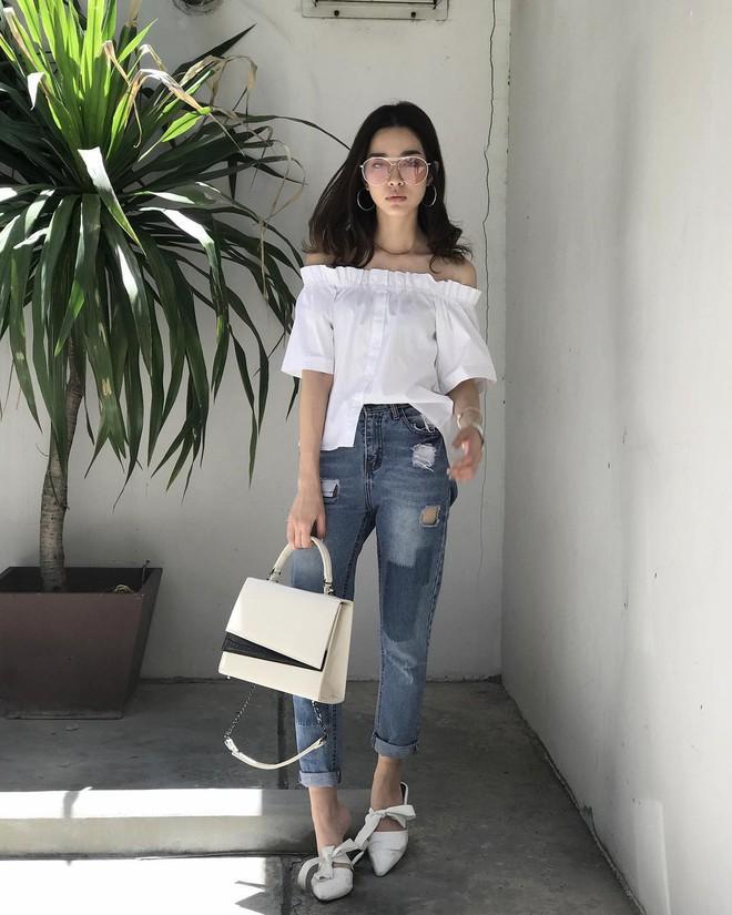 Đại diện các chị em mặc thử 8 loại quần jeans phổ biến, cô nàng này đã tìm ra loại tôn chân nịnh dáng nhất - ảnh 2