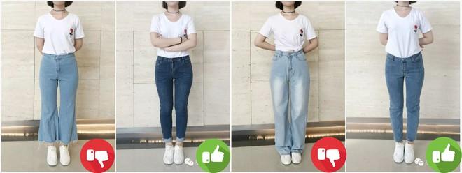 Đại diện các chị em mặc thử 8 loại quần jeans phổ biến, cô nàng này đã tìm ra loại tôn chân nịnh dáng nhất - ảnh 10