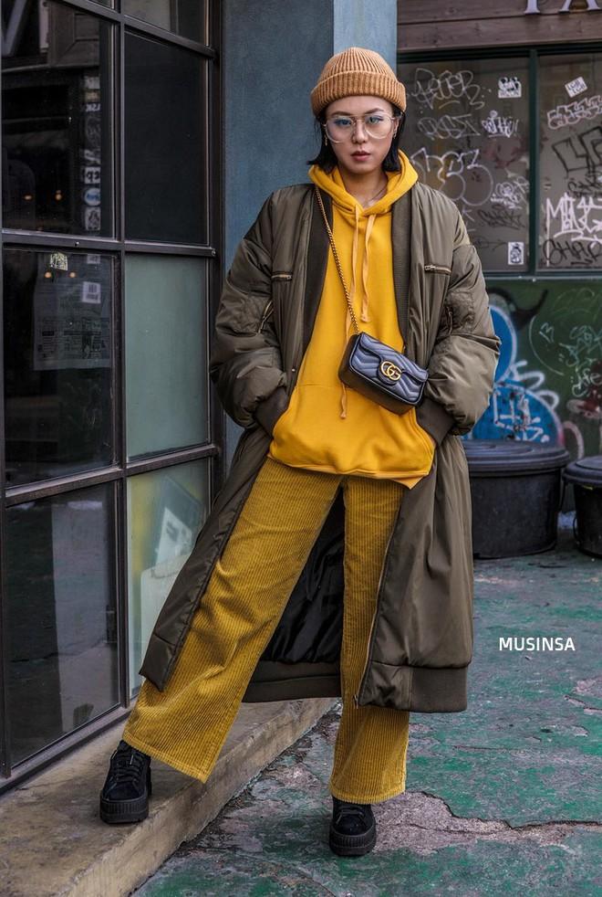 Giới trẻ Hàn chứng minh có nhồi nhiều quần áo đến mấy, chỉ cần biết cách thì outfit vẫn đẹp ngất như thường - ảnh 5