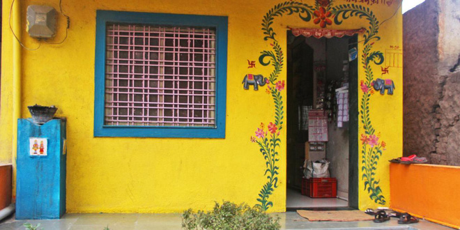 Ngôi làng kỳ lạ của Ấn Độ: Mọi ngôi nhà đều không lắp cửa, kể cả ngân hàng - Ảnh 1.