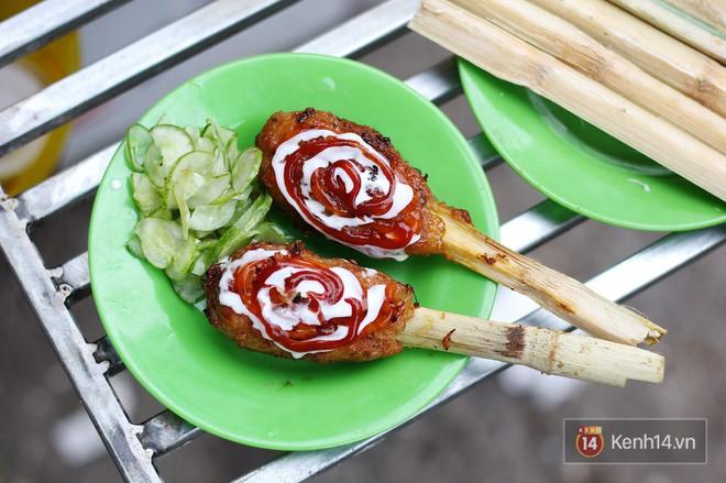 Hàng thịt bao mía độc nhất chỉ mới xuất hiện ở Hà Nội, nhiều người còn chưa ăn món này bao giờ - Ảnh 6.