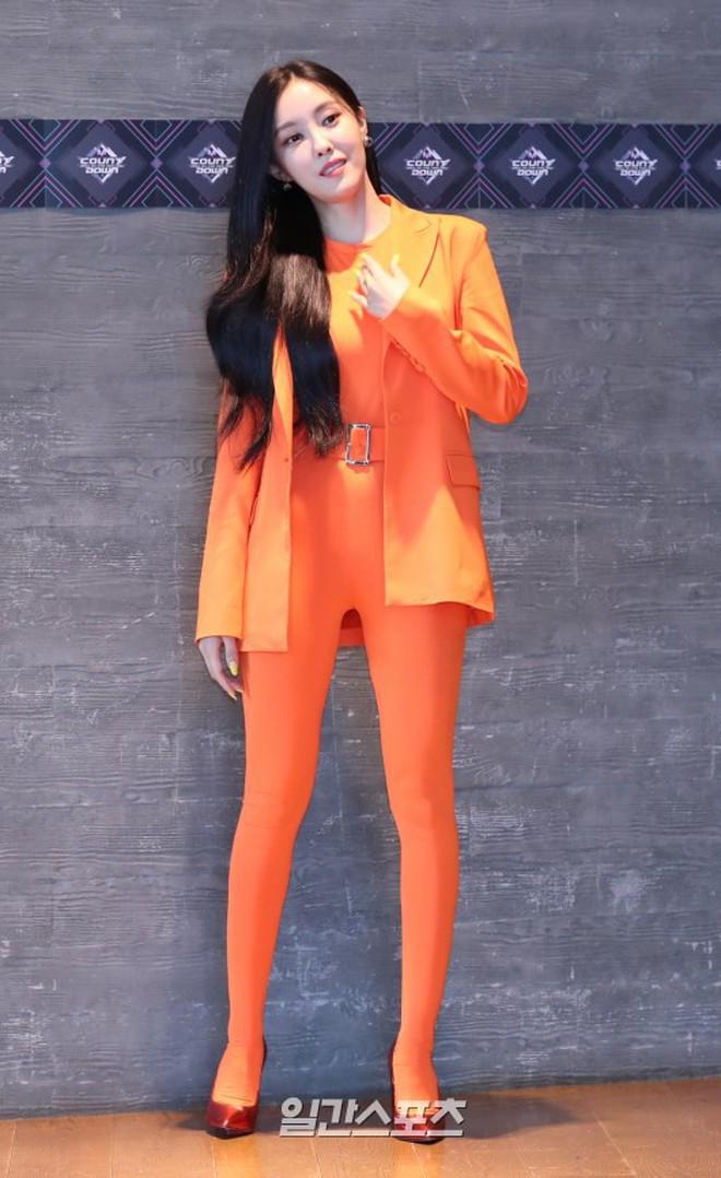 Góc logic: Đặt tựa single là Xoài nhưng Hyomin kiểu gì cũng phải ăn mặc như củ carot mới chịu - ảnh 1