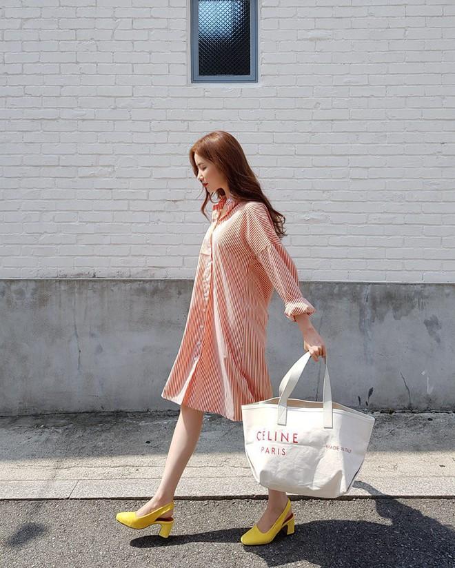 Vòng bụng lớn chỉ là chuyện nhỏ bởi đã có 5 kiểu váy liền giúp các nàng che giấu hoàn hảo - ảnh 16