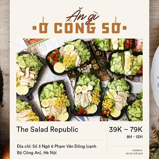 Chị em văn phòng mà muốn giữ dáng thì đừng quên 5 địa chỉ ship salad ngon lành ở Hà Nội này - Ảnh 1.