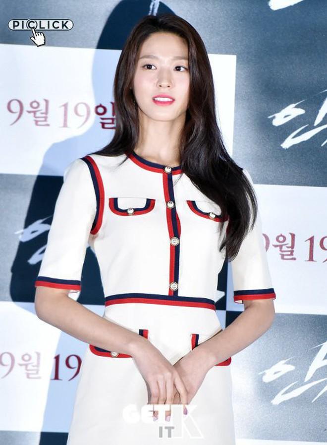 Seolhyun mặc như gái công sở đi dự họp báo, netizen vẫn khen nữ nở vì quá đẹp - ảnh 2